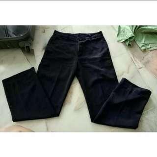 Black Suit Pants Unisex