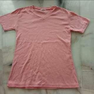 Pink T shirt Unisex
