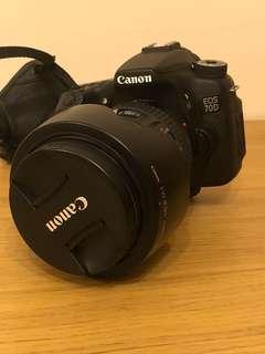 Canon EOS 70D 套裝