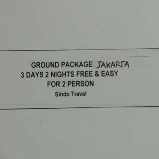 (Reduced) Hotel stay 3 days 2 nites w breakfasts