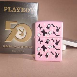 美國 Zippo 打火機20578 Playboy 50th Anniversary
