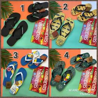 MAR 18 HAVAINAS COUPLE SLIPPERS (DCL)
