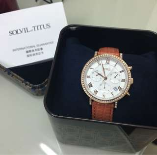 鐵達時Titus 女裝錶 全新有保養