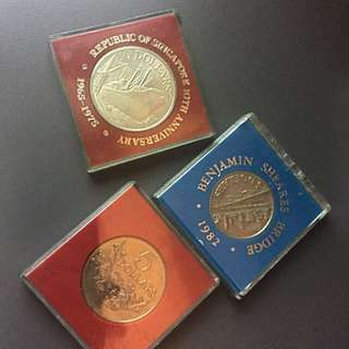 Old/Antique Singapore Coins