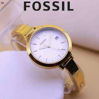 jam Tangan Fossil gelang Elegant, Mewah