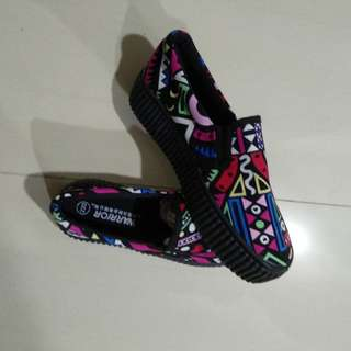 Tribal design shoes BN
