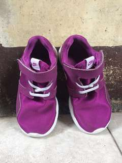 Pre LOVED- Authentic Nike Purple Rubber Shoes - Kids