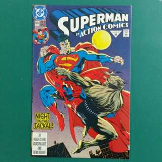 Action Comics No. 683 comic