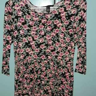 Floral Dress F21