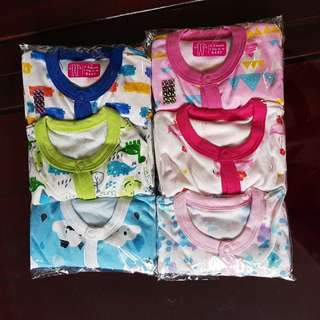 📮FREE Mailing • 3pcs Baby Footed Sleepsuits Onesie