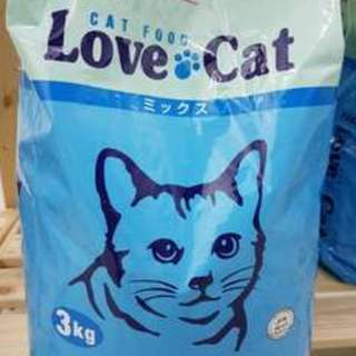New!! Healthy Nutritious LOVE CAT food (3Kg). *(Back in demand)*.