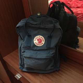 Kanken Backpack Blue Classic