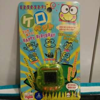 IN EXCELLENT CONDITION! Rare Vintage 1997 Official Sanrio Licensed Keroppi (Kerokerokeroppi) Virtual Pet Tamagotchi