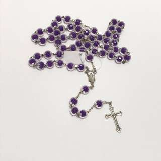 Rosary (Catholic) Purple Exclusive Design with box