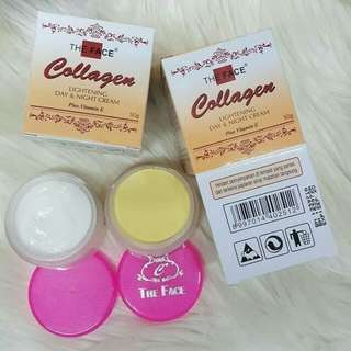 Cream collagen the face day & night