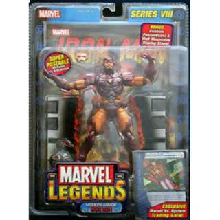 Modern Armor Iron Man Series VIII Marvel Legends