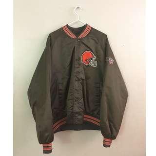 Vintage Browns varsity jacket