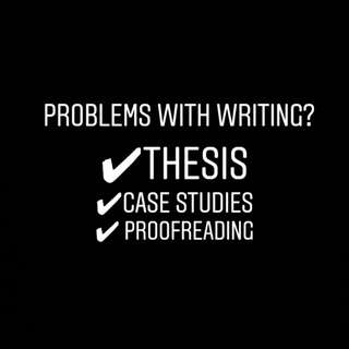 Proofreading Thesis Writing, Research Paper