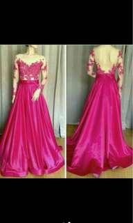 Handmade Party Dress / Gown / Bridal Prewedding Wedding