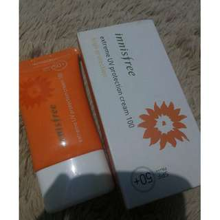 Innisfree action UV protection cream 100