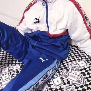 Puma Multicoloured Track Suit/Jacket/Joggers/Pants/Sweatpants/Windbreaker