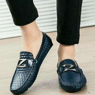 Sepatu slop pria asli import korea