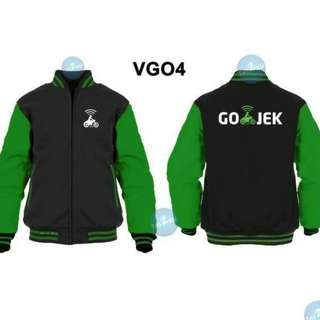 JACKET BASEBALL GOJEK VGO4