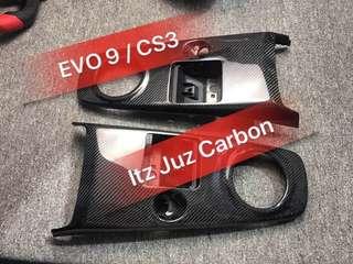 Mitsubishi EVO 9/CS3 Carbon Gear panel