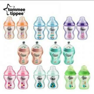 Tommee Tippee Twin Pack Tinted Bottle