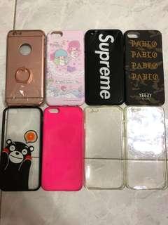 iPhone 6s Case 手機殻 supreme 熊本熊 雙子星 透明殻