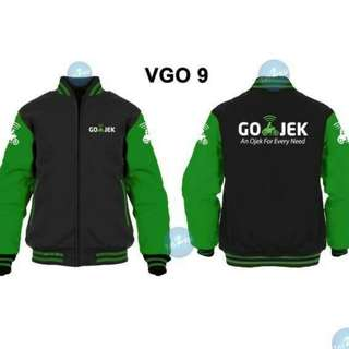 JACKET BASEBALL GOJEK VGO9