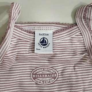 New. Petit Bateau 100%cotton