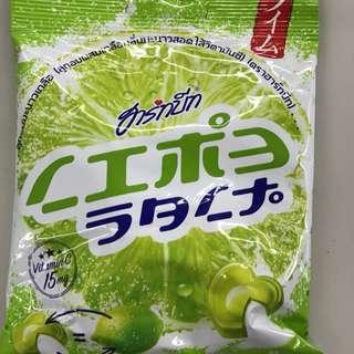 🚚 泰國代購 ✈ 哈比維他命C🍬鹹檸檬糖40gx2《2包入》
