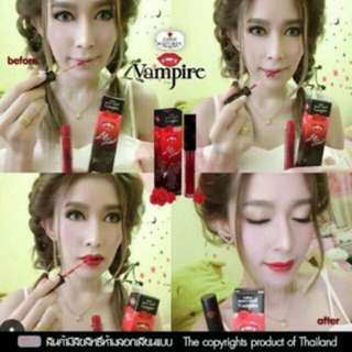 Lip tint beauty white vampire by benny original thailand 100%
