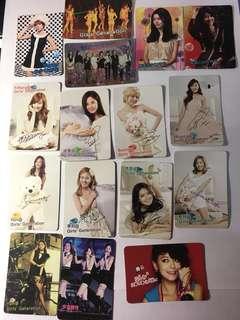 Yes card 少女時代 girls generation