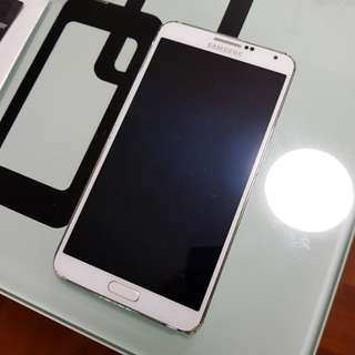 Broken Note3 壞mon 有花 (手機殼 mon 貼 wireless charge note 3 4 5 s7 s8 鋼化玻璃 無綫充電 )