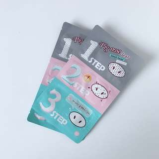 Holika Holika pig nose strip x2