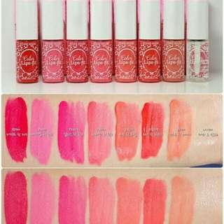 Etude house colour lips-fit