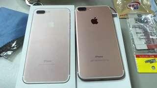 iPhone 7 Plus玫瑰金32 保固到12月20
