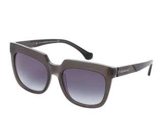 BALENCIAGA  Grey Square Sunglasses