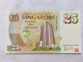 $25 note