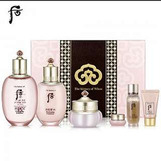 The History Of Whoo 拱辰享: 水 Special Set