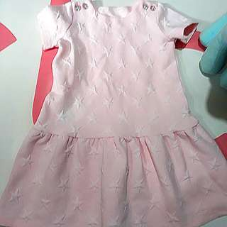 ♨Gymboree Dress with Embossed Star Pattern