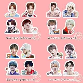 Idol producer stickers