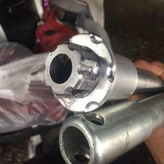 Custom axle shaft