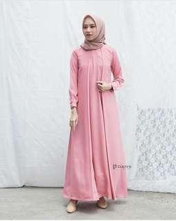 WDD - 0318 - Dress Gamis Busana Muslim Essensial