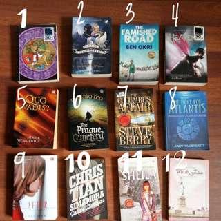 Novels 1-12