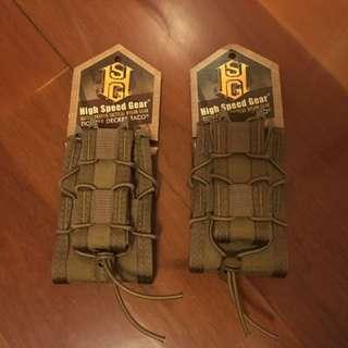 High speed gear M4連手槍匣袋 2個