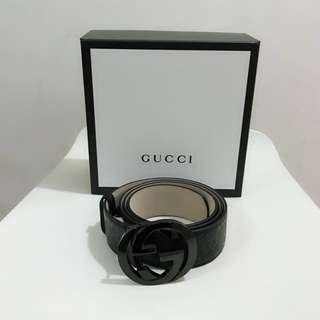🆕 Authentic Gucci Iconic Logo Belt