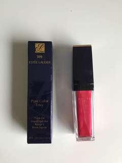 Brand new Estée Lauder Pure Color Envy 309 Envy Liquid Metallic Glo-Coral
